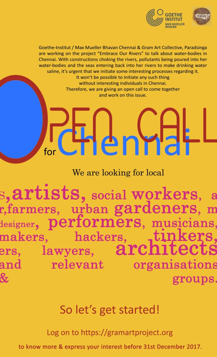 open call chennai 1